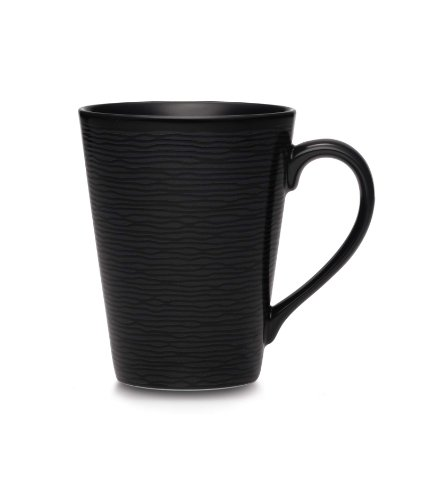 Noritake BOB Swirl Mug, 12-Ounce (Noritake Porcelain Mug)