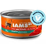 Iams ProActive Health Adult Filets with Skipjack Tuna in Sauce Canned Cat Food, My Pet Supplies