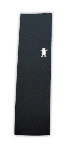 Grizzly Bear DIE Cut Skateboard Perforated Grip Tape - Black