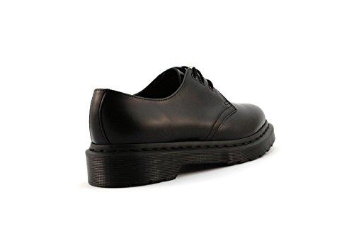 Dr. Martens Monochrome 1461 14345001 - Zapatos de cordones de cuero unisex Negro