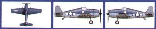 Trumpeter 1/700 F6F Hellcat Aircraft Set for USS Essex (18-Box)