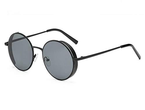 sol los aire unisex gafas gafas conducción de de la de pesca la para protección metal UV400 libre de marco moda Gafas de sol al la de de hombres Black para de viajar del IYxxRZwdqO