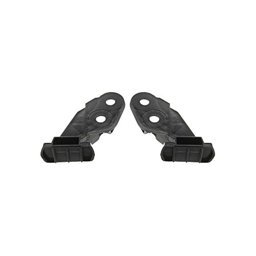 Bumper Bracket compatible with BMW 323Ci 00 Front Right and Left Side Set of 2 - Bmw 330i Bracket Bumper