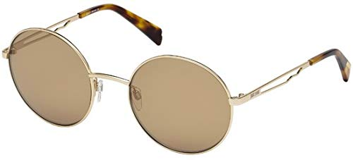 Just Cavalli Mujer JC840S Gafas de sol, Dorado (Gold/Brown ...