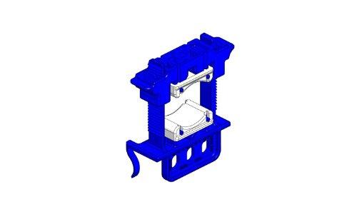 Holdrite 280 abrazadera cierre aislamiento Variable soporta hasta 5,08 cm tamaños de tubería IPS, Pack de 50