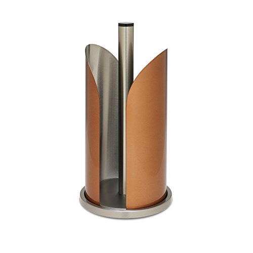 Honey-Can-Do KCH-01008 Paper Towel Holder, Copper - Copper Paper Towel Holder