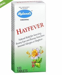 Hayfever Tablets 100 ea by Hyland's (Pack of 5) -