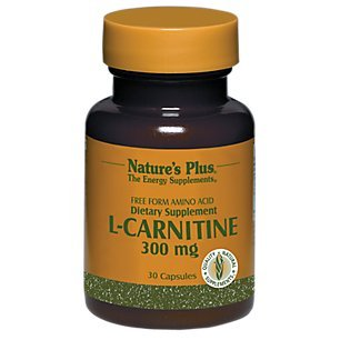 Nature s Plus L-Carnitine 300 mg 30 Veggie Caps -