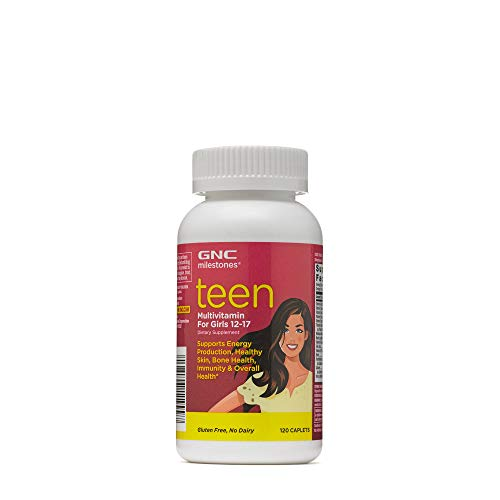 GNC milestones Teen - Multivitamin for Girls 12-17 - (Product) RED