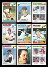 1977 Topps Baseball Complete 660 Card Set . Contains Andre Dawson, Dale Murphy Rookies, Hall of Famers Such As Nolan Ryan , Mike Schmidt, Reggie Jackson , George Brett and Many More