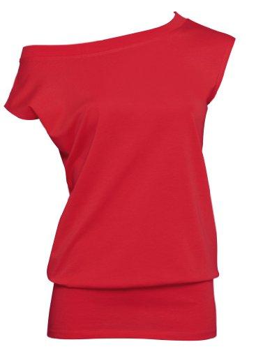 BCTWL05 T-Shirt Love Madness, Farbe:Deep Red;Größen:L L,Deep Red