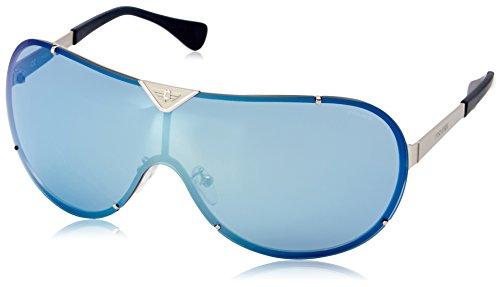 Police S8827M-688X Shield Sunglasses, Ruthenium,Black & Blue, 99 - 2014 Sunglasses Police