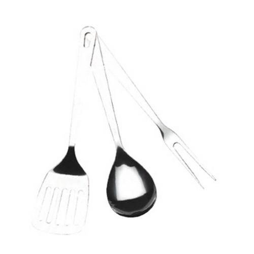 Texsport Three-Piece Stainless Steel Utensil Set by Texsport