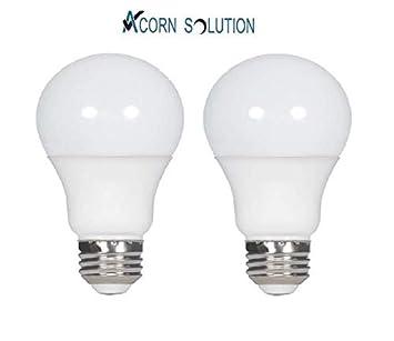 Acorn - Bombilla LED E27, luz blanca fría, clase energética A +, 10W-A60-Cool-White-E27(2), e27, 10.0W: Amazon.es: Electrónica