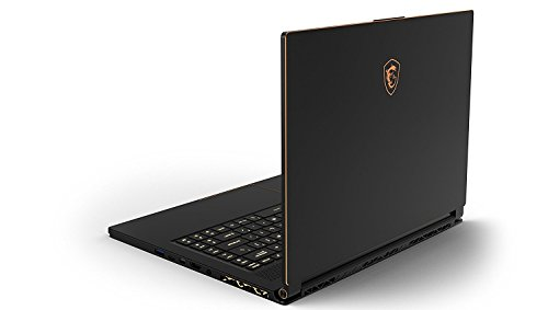 "MSI GS65 Stealth Thin 8RE-252ES - Ordenador portátil Gaming 15.6"" Full HD 144 Hz (Coffeelake i7-8750H, 16GB RAM, 512GB SSD, Nvidia GeForce GTX 1060 6GB, Windows 10 Advanced) Teclado QWERTY Español 4"