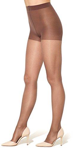 Silkies Women's Sheer Renu Support Pantyhose -Medium Taupe