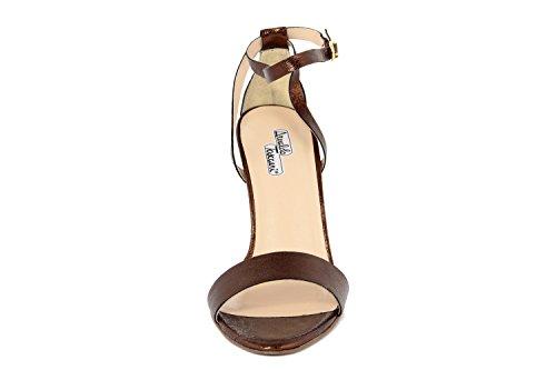 Arnaldo Toscani - Sandalias de vestir de Piel Lisa para mujer marrón marrón
