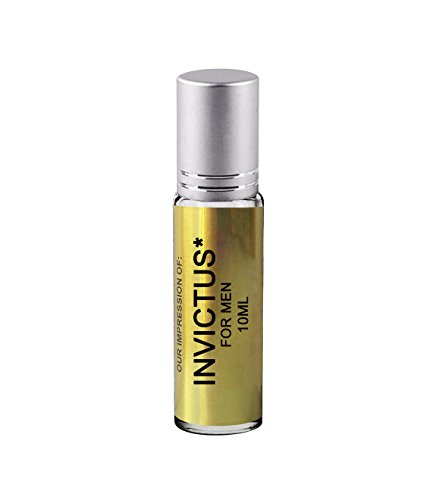 Perfume Studio Premium IMPRESSION Perfume Oil; SIMILAR Fragrance Accords to *{INVICTUS}* Men Cologne; 100% Pure Undiluted, No Alcohol Long Lasting Parfum Oil (VERSION/TYPE Perfume; Not Original Brand)