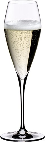 Riedel Vitis Leaded Crystal Champagne Glass, Set of 4