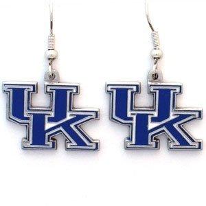 - Siskiyou Kentucky Wildcats Dangle Earrings - NCAA College Athletics Fan Shop Sports Team Merchandise