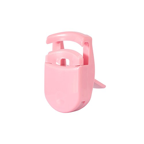 Eyelash Curler, Davocy Best Professional Plastic Eyelash Curler, Mini Cute Eyelash Curler, Pink