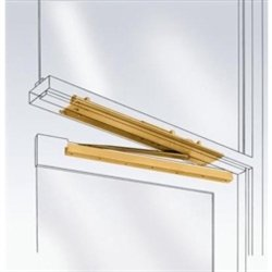 International Door Closers LCN 2035 Concealed Overhead Closer by International Door Closers