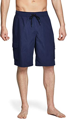 TSLA Men's 11 Inches Swim Trunks, Quick Dry Beach