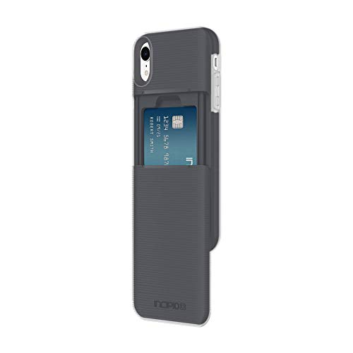 Incipio Stashback Wallet Case for iPhone XR (6.1) with Heavy Duty Credit Card Compartment - Black