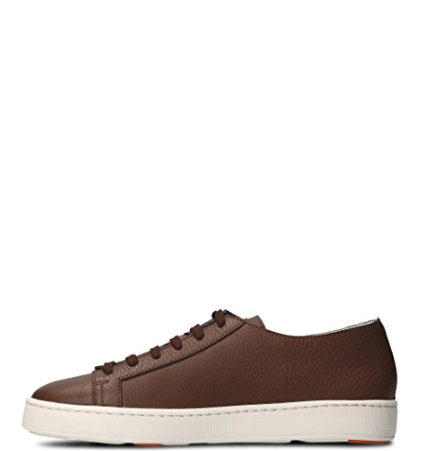 SANTONI Sneakers Uomo MBCN14387BA6CMIAS40 Pelle Marrone Mejor Lugar De Venta En Línea JQ8mt