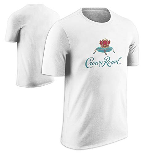 Crown Royal Logo White T-Shirt ()