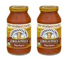Newman's Own Organics Pasta Sauce Marinara, 23.5 OZ (Pack of 2) ()