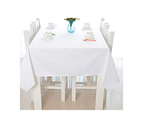 brown78 Party Banquet Hotels Dining Table Cover Modern Solid White Rectangle Table Cloth Tablecloth Home Kitchen Table Cloths,White,140180Cm (Best 50 Pint Dehumidifier 2019)