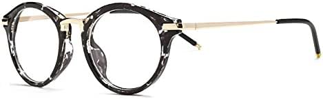 Outray Vintage Inspired Round Frame Clear Lens Glasses