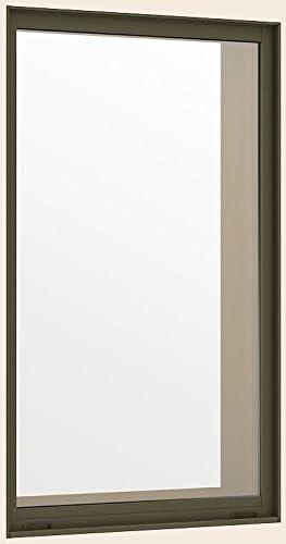 デュオPG 複層ガラス FIX窓 単体 サッシ 呼称 06905 W:730mm × H:570mm 製品色:オータムブラウン 組込みガラス(複層):透明3mm-A12-透明3mm LIXIL リクシル TOSTEM トステム