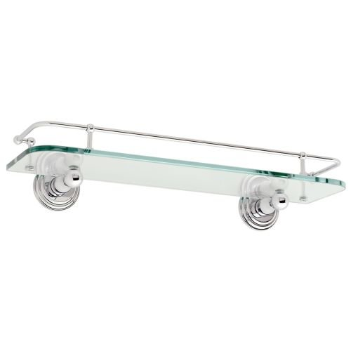 Ginger 1135T/24 Shelf from the Chelsea Collection, Polished Chrome by Ginger