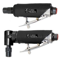 Mini Angle Grinder Kit (Florida Pneumatic Mfg (FPT750K) Air Die Grinder Kit, 1/4