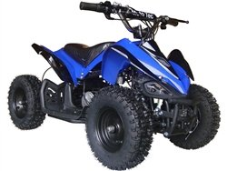 Big Toys USA MotoTec 24v Mini Quad v2 - Blue