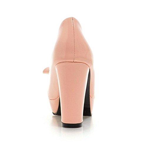 Coolcept Women High Heels Court Shoes Pink vpScSiHf