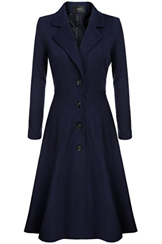 Fanala Ladies Breasted Overcoat Outerwear