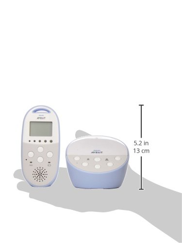 philips avent dect baby monitor with temperature sensor and night mode. Black Bedroom Furniture Sets. Home Design Ideas