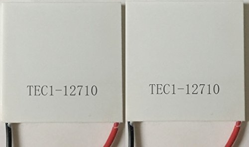 2 pcs TEC1-12710 Thermoelectric Peltier Cooler 12V 100W 154Wmax