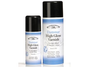 Winsor and Newton Dammar Varnish 10.65 oz Spray Can by Winsor & Newton Artists'