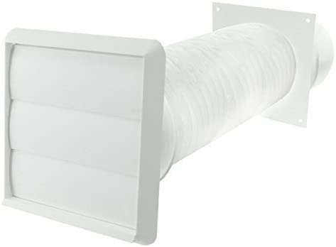 Spares2go para conductos de pared Exterior para campanas extractoras Indesit (blanco, 10,16 cm/102 mm): Amazon.es: Hogar