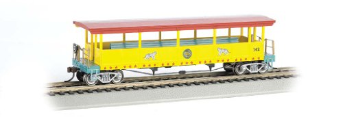 - Bachmann Ringling Bros. and Barnum & Bailey Open-Sided Excursion Car with #142 Seats (HO Scale)