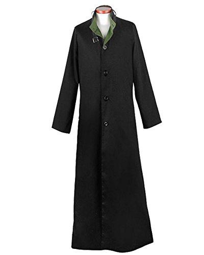 Darker Than Black Costume Mask (Ya-cos DARKER THAN BLACK Black Hei Cosplay Costume Trench Coat Long Jacket)
