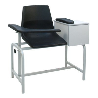 (Economical Phlebotomy Chair with Storage Drawer Style: Standard by Winco Manufacturing)