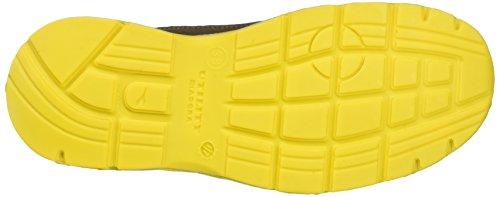 Diadora Run High S3, Zapatos de Trabajo Unisex Adulto Marrón (Marrone Scuro/blu Maiolica)
