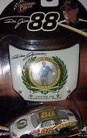 NASCAR Dale Jarrett #88 UPS Arnold Palmer Tribute To a Legend 1/64 Scale Diecast With Bonus Matching Magnet Hood Winners Circle 2004 (Nascar Tribute Hood)