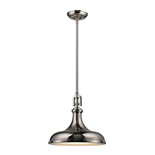 Elk Lighting 57051/1 Ceiling-Pendant-fixtures, Nickel ()