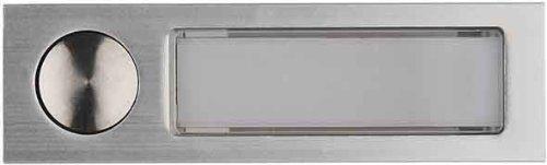 Elcom Antivandal-Kombitaster AV3-Taster EV1 eloxal Klingeldr/ücker 4250111890519